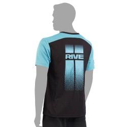 Rive T-Shirt Stripes Black